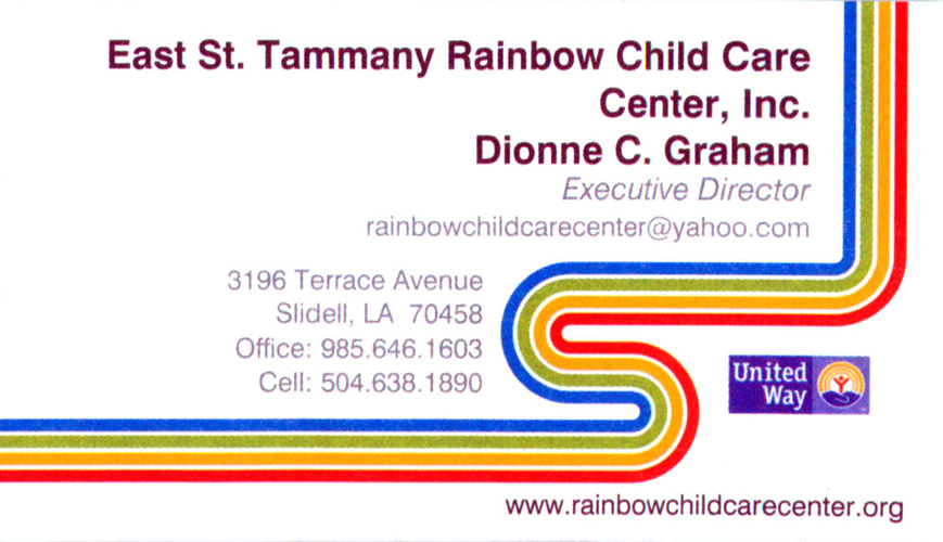 Rainbow Child Care Center - Schools | The Shopper Online