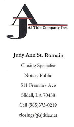 AJ Title Company