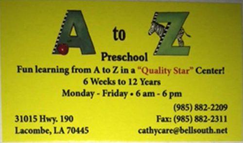 A to Z Preschool