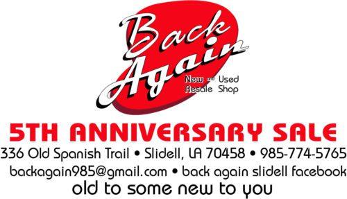 5th Anniversiary Sale