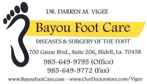Bayou Foot Care