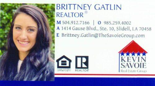 Brittney Gatlin - Realtor