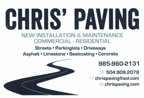 Chris' Asphalt Paving
