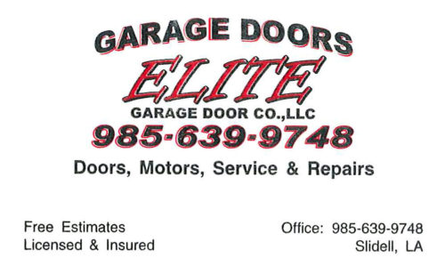 Elite Garage Doors