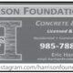 Harrison Foundations