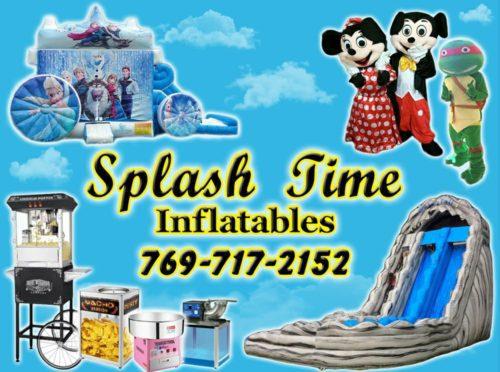 Splash Time Inflatables