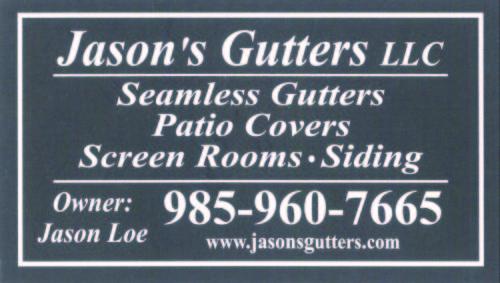 Jason's Gutters LLC