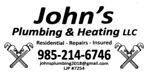 John's Plumbing & Heating LLC