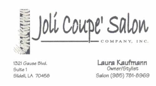 Joli Coupe Salon