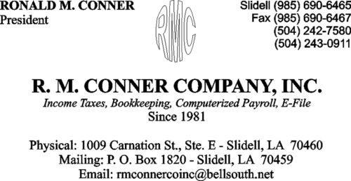 RM Conner Company Inc.