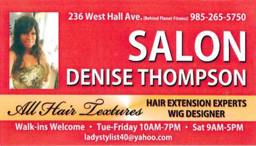 Salon Denise Thompson - Wigs