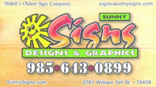 Sunny Signs