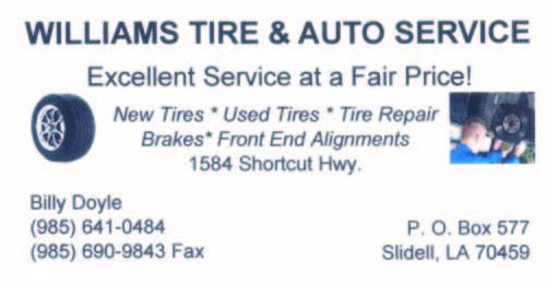 Williams Tire & Auto Service