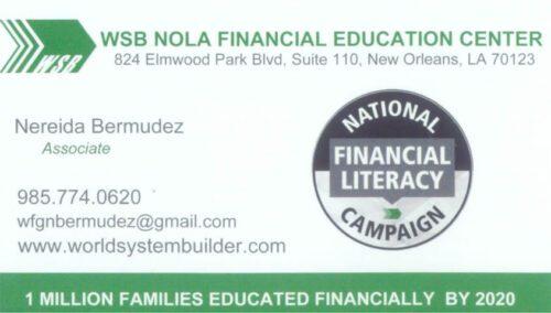 WSB NOLA Financial Education Center